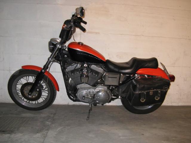 Harley Davidson 883 Pearl Orange