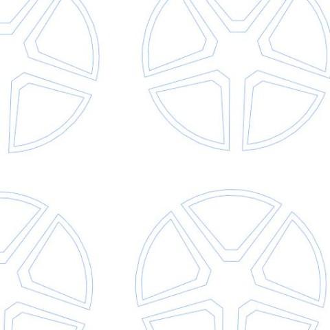disegno vettoriale dei cerchi