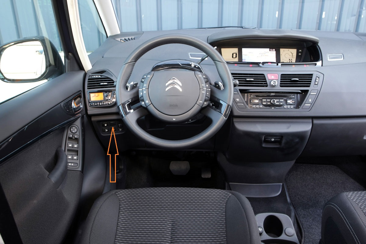 c4 grand Picasso- dashboard
